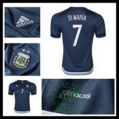 Camisa Futebol Argentina (7 Di Maria) 2015/2016 Ii Masculina