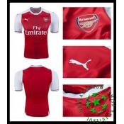Uniforme De Futebol Arsenal 2016-2017 I Masculina