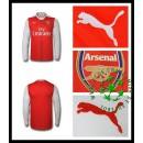 Camisa De Futebol Arsenal Manga Longa 2016 2017 I Masculina