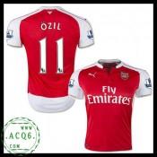 Todo Camisas Futebol Ozil Arsenal Masculina 2015-2016 I Loja On-Line