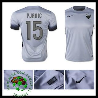 Camisas De Futebol As Roma (15 Pjanic) 2015/2016 Iii Masculina