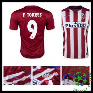 Camisa Atlético De Madrid (9 F.Torres) 2015-2016 I Masculina