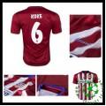 Camisas Futebol Atlético De Madrid (6 Koke) 2015/2016 I Masculina