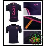 Uniforme De Futebol Barcelona Pique 2016-2017 Ii Masculina