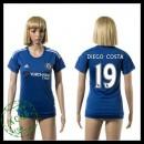 Chelsea Camisas De Futebol Diego Costa 2015/2016 I Feminina