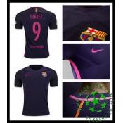 Uniforme Futebol Barcelona Suarez 2016/2017 Ii Masculina