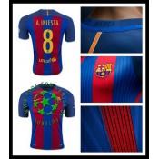 Jogos Uniforme De Futebol A. Iniesta Barcelona Masculina 2016/2017 I On-Line