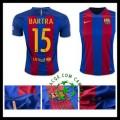 Comprou Uniforme Futebol Bartra Barcelona Masculina 2016/2017 I Loja On-Line
