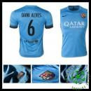 Camisas Barcelona (22 Dani Alves) 2015/2016 Iii Masculina