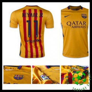 Camisa Barcelona (11 Neymar Jr) 2015/2016 Ii Masculina