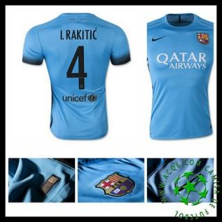 Camisas Du Futebol Barcelona (4 I.Rakitic) 2015/2016 Iii Masculina
