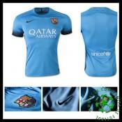 Camisas De Futebol Barcelona 2015 2016 Iii Masculina