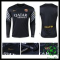 Camisas Futebol Barcelona Manga Longa 2015 2016 I Goleiro