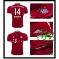 Camisas Du Futebol Bayern Munich Alonso 2016 2017 I Masculina