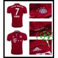 Camisa De Futebol Bayern Munich Ribery 2016/2017 I Masculina