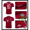 Camisa Bayern Munich Robben 2016-2017 I Masculina