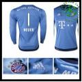 Camisa Futebol Bayern München (1 Neuer) 2015/2016 I Goleiro