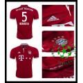 Uniforme De Futebol Bayern Munich Benatia 2016/2017 I Masculina