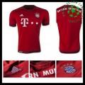 Camisas De Futebol Bayern München 2015 2016 I Masculina
