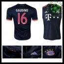 Uniforme De Futebol Bayern München (16 Gaudino) 2015/2016 Iii Masculina