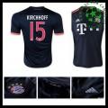 Camisas Bayern München (15 Kirchhoff) 2015 2016 Iii Masculina