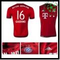 Camisas Futebol Bayern München (16 Gaudino) 2015/2016 I Masculina