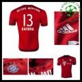 Camisa De Futebol Bayern München (13 Rafinha) 2015 2016 I Masculina