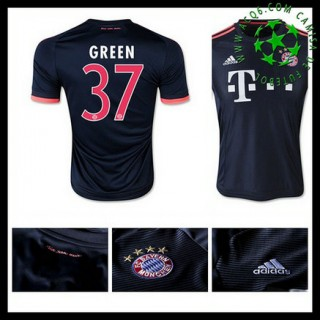 Uniformes De Futebol Bayern München (37 Green) 2015-2016 Iii Masculina