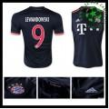 Camisas Futebol Bayern München (9 Lewandowski) 2015 2016 Iii Masculina