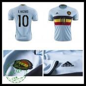 Camisa (10 E.Hazard) Bélgica Autêntico Ii Euro 2016 Masculina