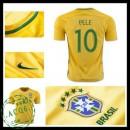 Camisa Futebol Brasil Pele 2016-2017 I Masculina