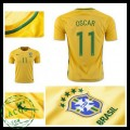 Camisas Du Futebol Brasil Oscar 2016/2017 I Masculina