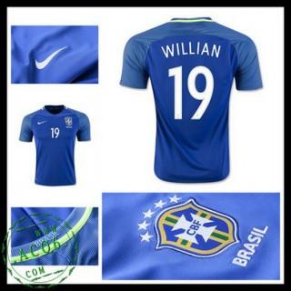 Camisas Futebol Brasil Willian 2016/2017 Ii Masculina