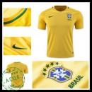 Camisas De Futebol Brasil 2016-2017 I Masculina