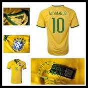 Camisa De Futebol Brasil (10 Neymar Jr) 2015-2016 I Masculina