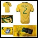 Camisas Futebol Brasil (2 Dani Alves) 2015/2016 I Masculina