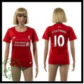 Liverpool Camisa Futebol Coutinho 2015/2016 I Feminina