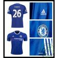 Criar Camisas Futebol Terry Chelsea Fc Masculina 2016/2017 I On-Line