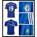 Velho Camisa Futebol Diego Costa Chelsea Fc Masculina 2016-2017 I Mais Barato Online