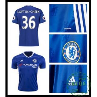 Falso Camisas De Futebol Loftus Cheek Chelsea Fc Masculina 2016-2017 I Mais Barato Online