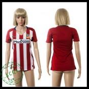 Atlético Madrid Camisa Futebol 2015/2016 I Feminina