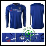 Camisa Futebol Chelsea Manga Longa 2015/2016 I Masculina