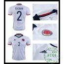 Equilíbrio Camisa Escobar Colômbia Masculina 2016-2017 I Loja On-Line