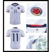 Sob Camisa De Futebol Cuadrado Colômbia Masculina 2016/2017 I Loja On-Line