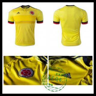 Camisa De Futebol Colômbia 2015/2016 I Masculina