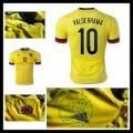 Uniforme Futebol Colômbia (10 Valderrama) 2015-2016 I Masculina