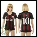 Ac Milan Camisas Futebol Honda 2015-2016 I Feminina