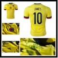 Camisas Futebol Colômbia (10 James) 2015-2016 I Masculina