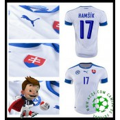 Criar Camisas De Futebol Hamsik Eslováquia Masculina Euro 2016/2017 I On-Line