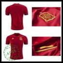 Camisas De Futebol Espanha Autêntico I Euro 2016 Masculina
